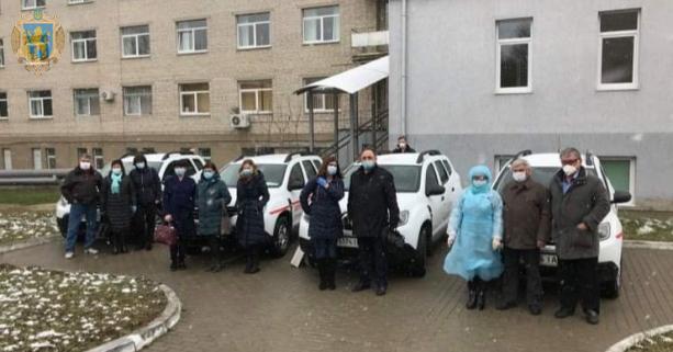 На Львівщині мобільні групи розпочали масове тестування