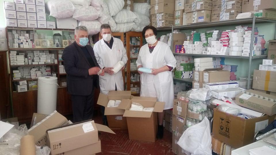 Усі працівники Сокальської лікарні забезпечені масками