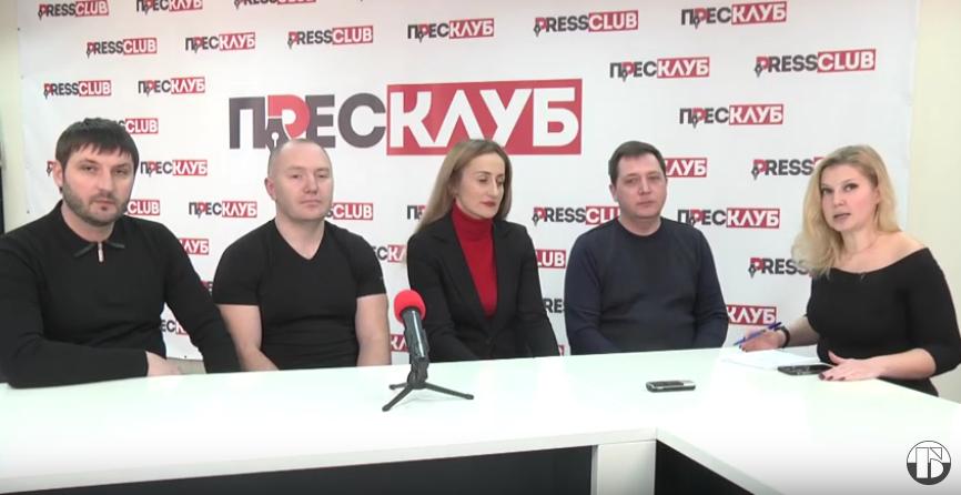 Гості червоноградського прес-клубу – представники ГО «Ліга підприємців України»