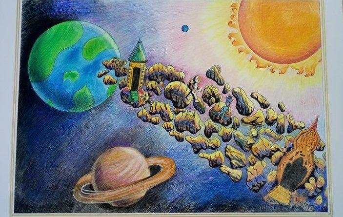 Космічні фантазії на Сокальщині