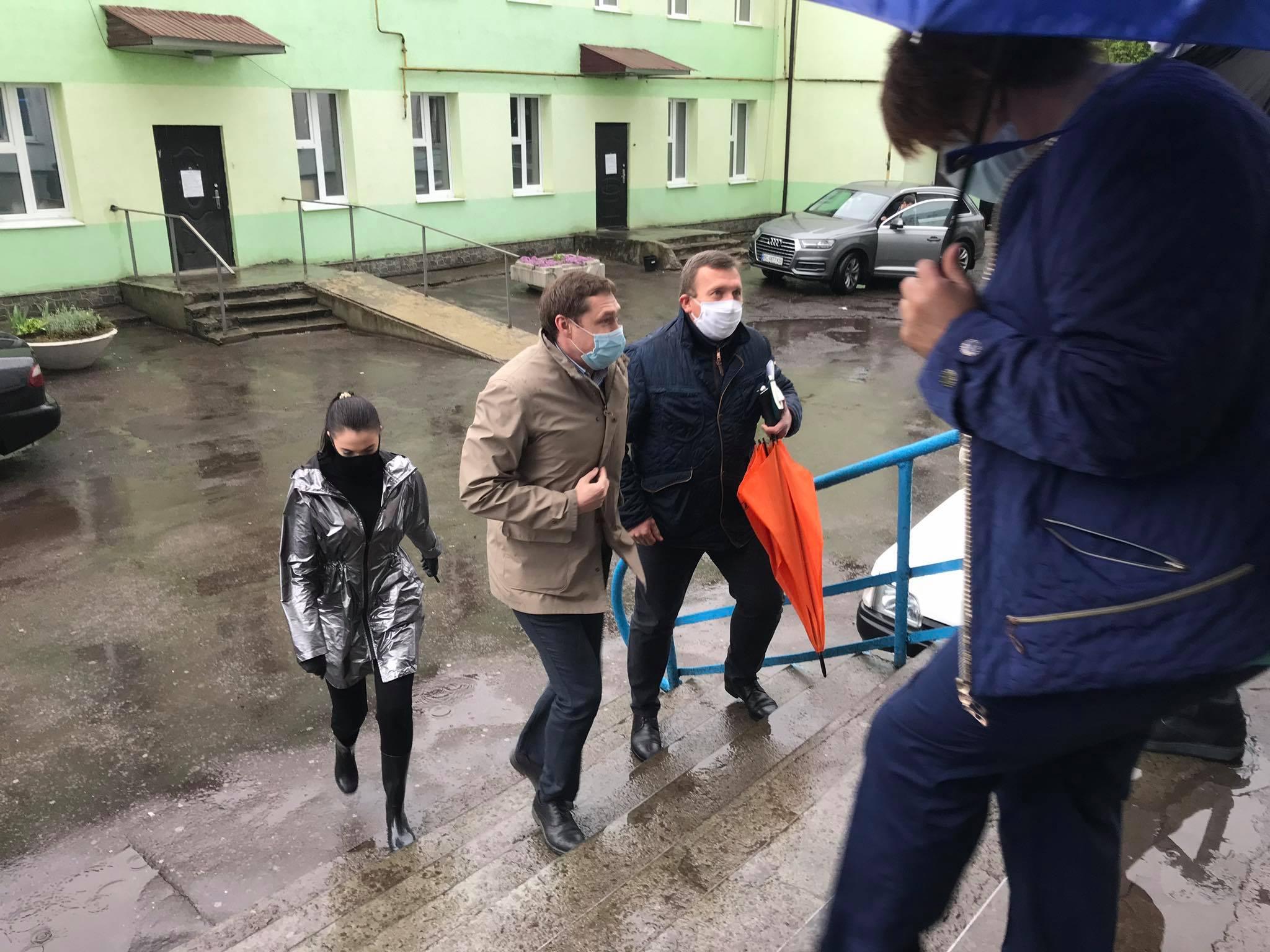 Голова ЛОДА Максим Козицький з робочим візитом у Червонограді