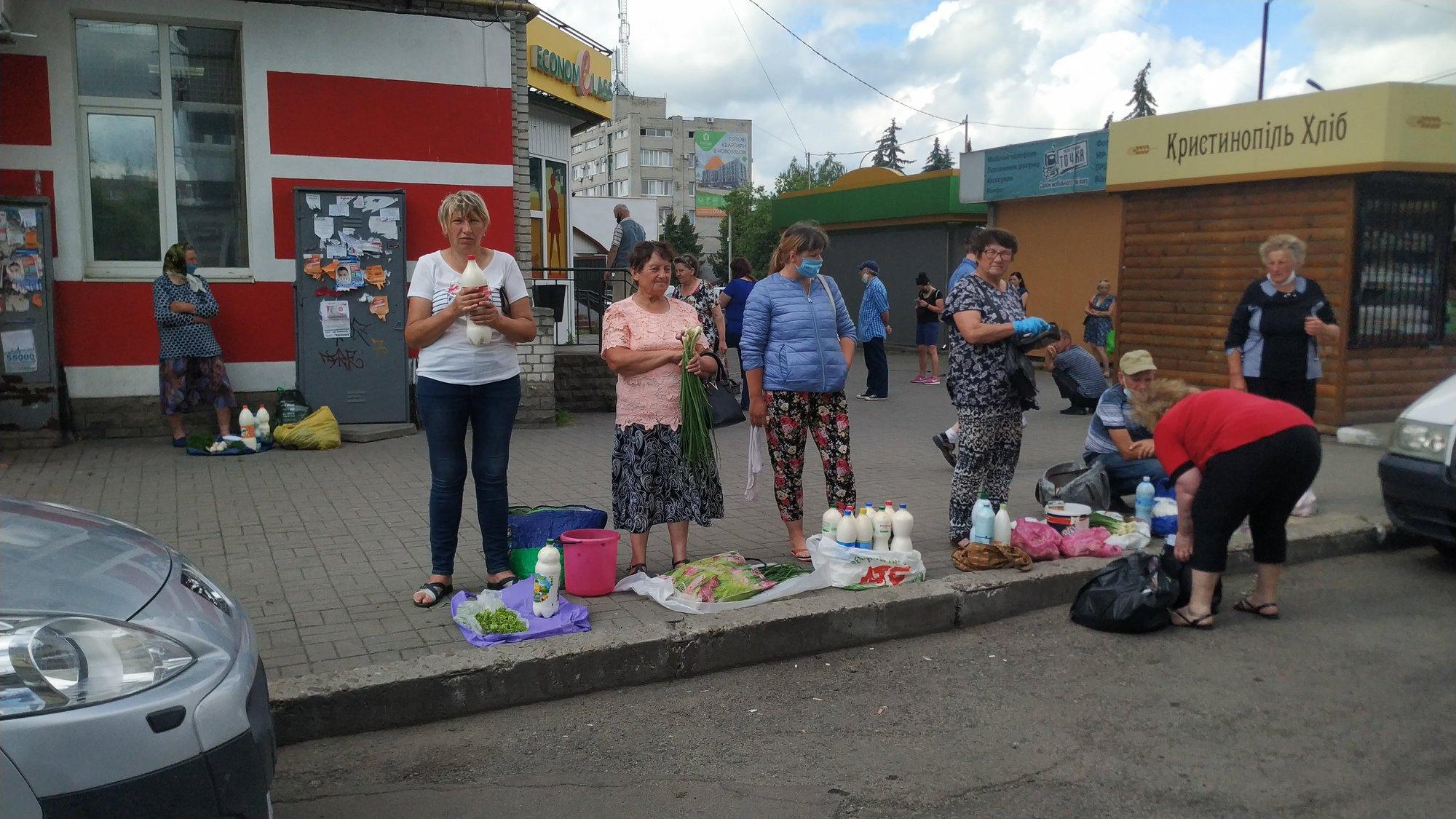 Як у Червонограді ведуть активну боротьбу із  стихійною торгівлею?