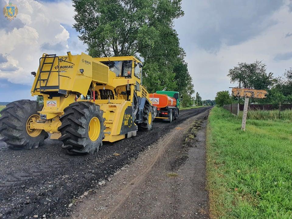 Біля Белза у селі Низи відремонтують 750 метрів дороги