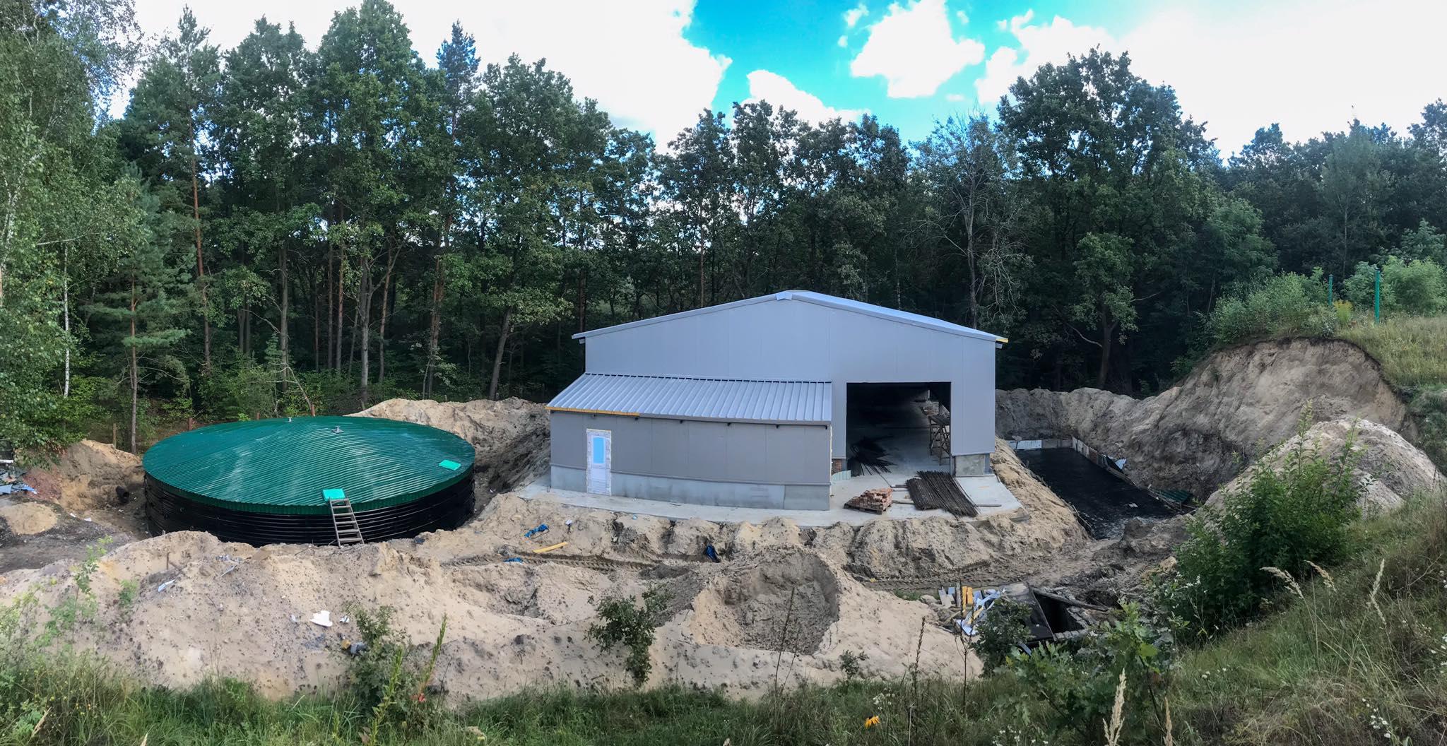 Будівництво станції знезалізнення триває