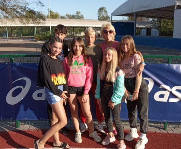 Команда червоноградських школярів зайняла 5 мiсце iз 129 команд областей України у чемпіонаті з легкоатлетичного чотириборства