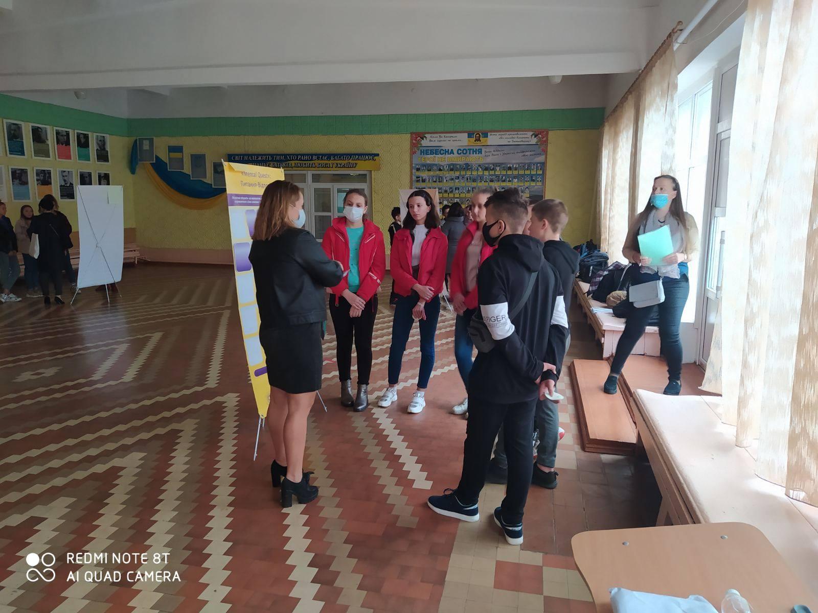 У Червоноградській п'ятій школі  обговорили проблему психічного здоров'я молоді