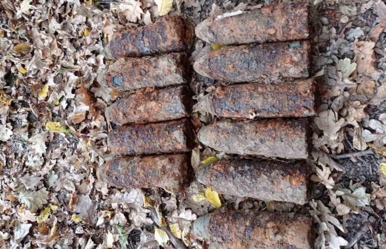 У Скоморохах знайшли артилерійський снаряд  в полі недалеко від села
