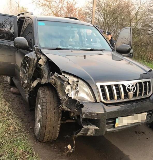 У Сокалі 17-річний нетверезий водій без прав  скоїв кілька автозіткнень та намагався втекти