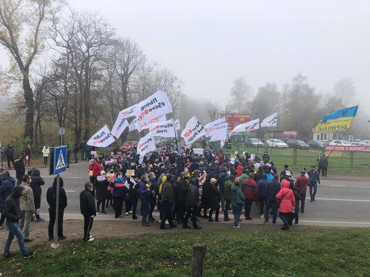 Власники малого та середнього бізнесу Червонограда доєднались до всеукраїнської акції «SAVE ФОП»