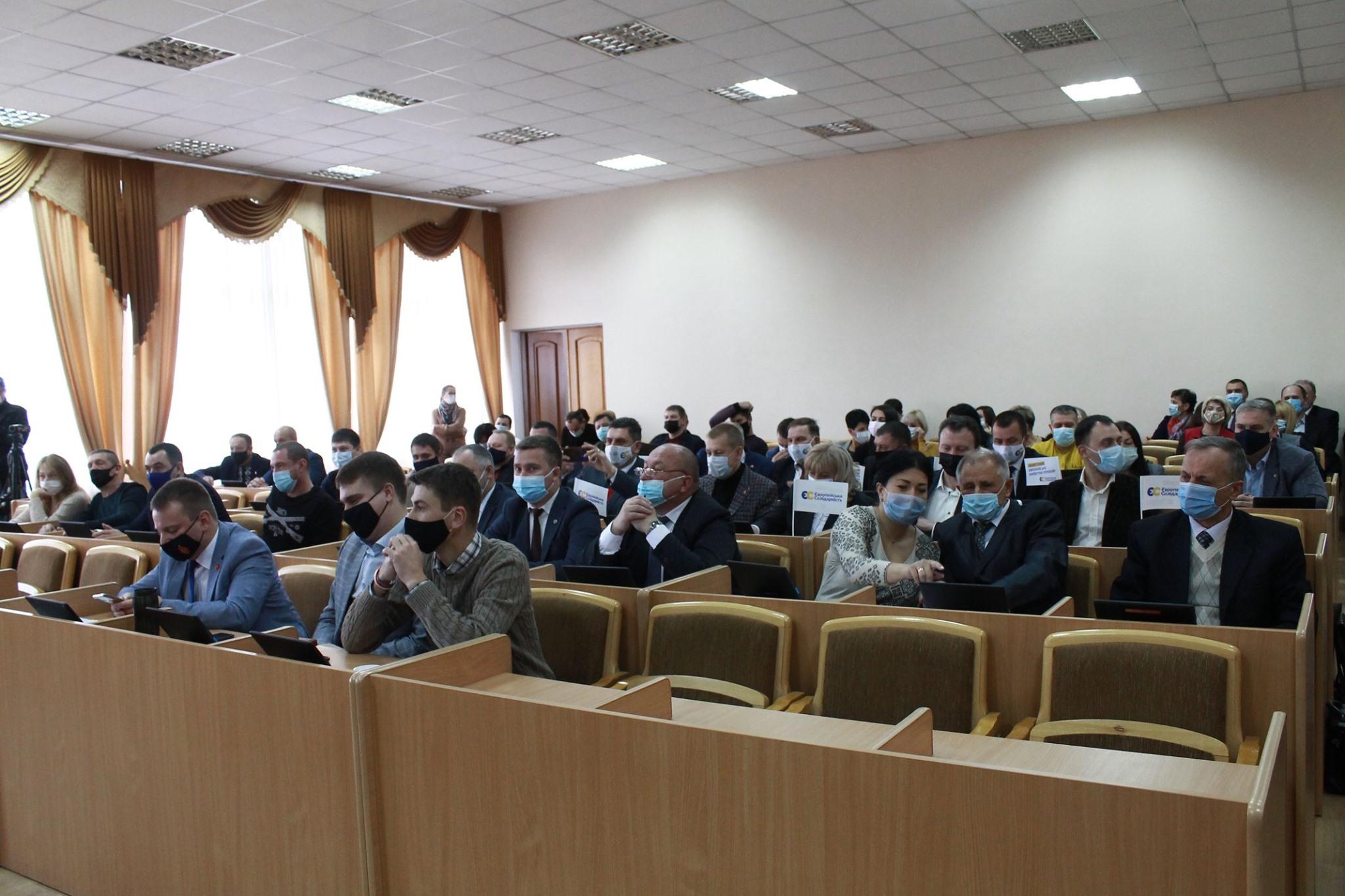 Друга сесія Червоноградської міської ради ОТГ відбудеться 10 грудня