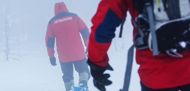 Рятувальники допомогли спуститися з гори двом лижникам-початківцям з Великих Мостів, які не розрахували свої сили