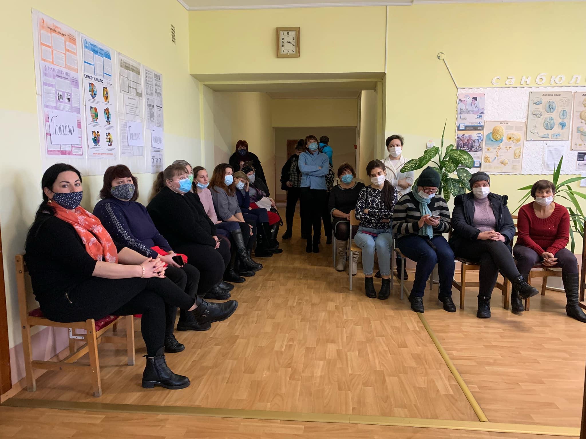 Соснівські медики припинили голодування