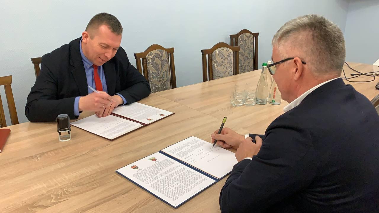 Червоноградська міська рада та гміна Драгічин (Республіка Польща) уклали угоду про співпрацю в галузі економіки та залучення інвестицій