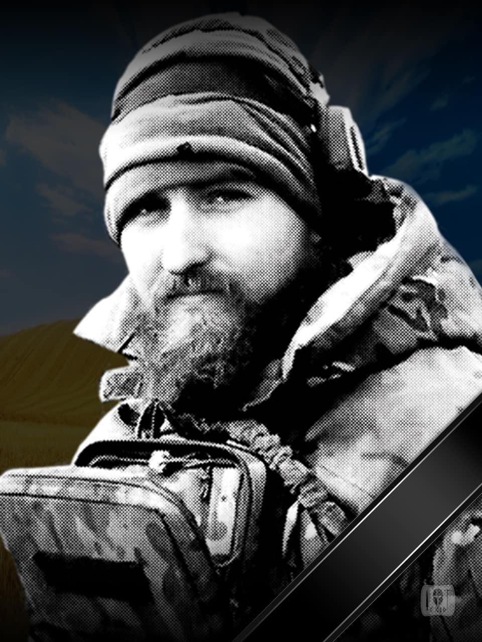 9 березня треті роковини з дня загибелі одного з кращих розвідників полку «Азов» Юрія Луговського на псевдо «Баррет»