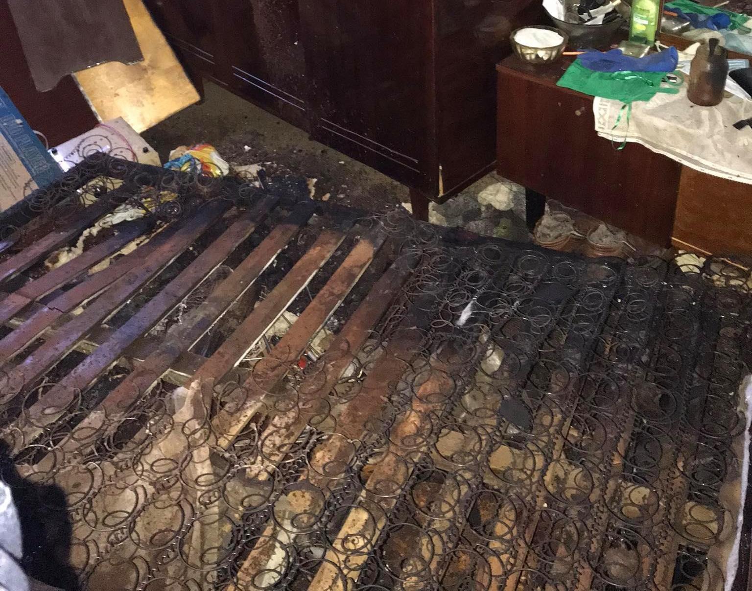 Сокальчанин отримав опіки через пожежу в квартирі