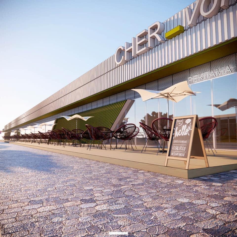 У Червонограді розпочинають будівництво нового великого торгово-розважального комплексу