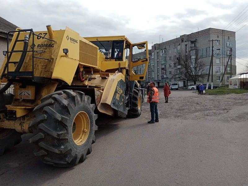 Розпочато ремонт дороги Жвирка – Завишень на Сокальщині