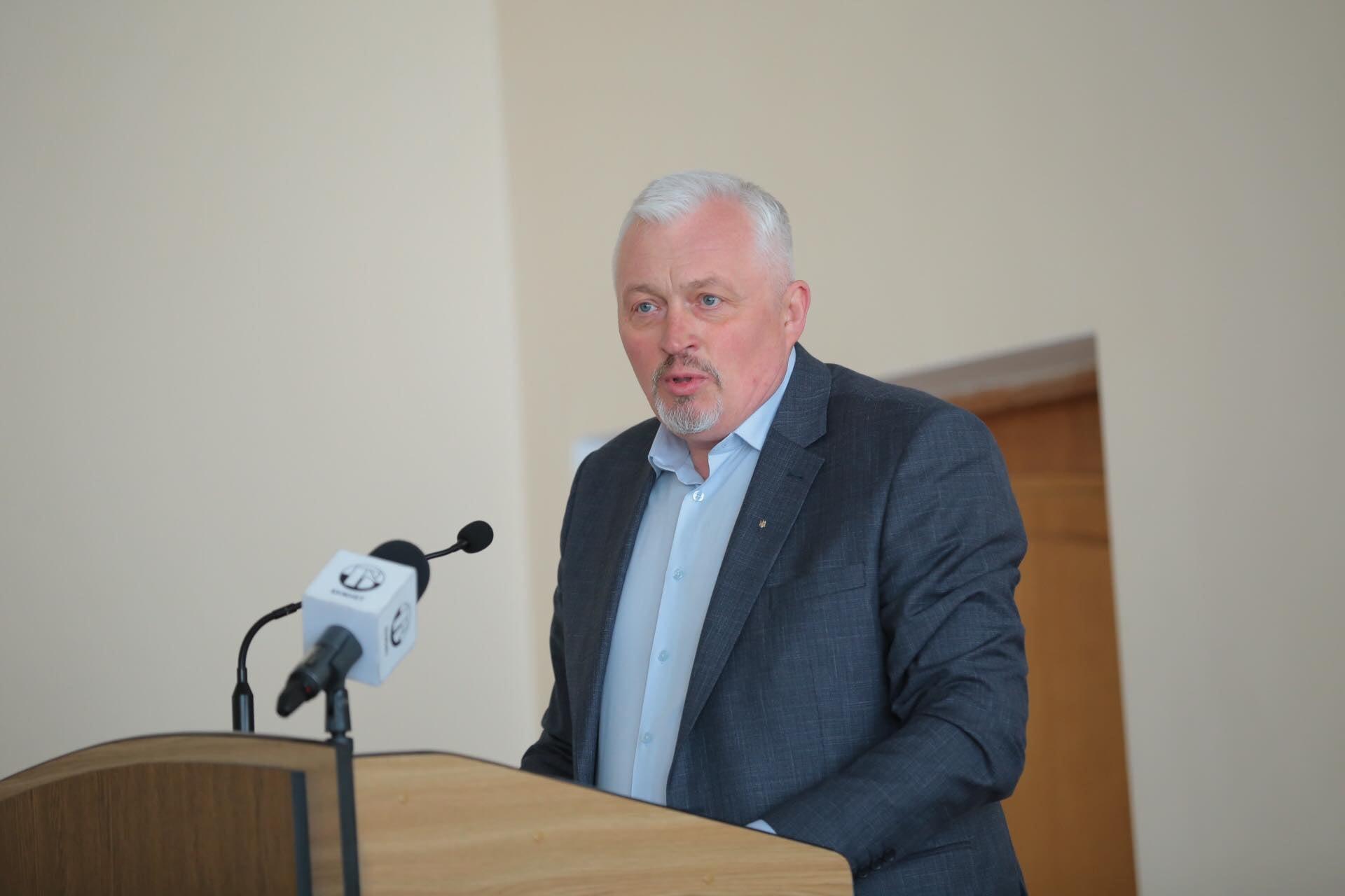 У Червонограді представили голову Червоноградської райдержадміністрації – Андрія Дяченка (відео)