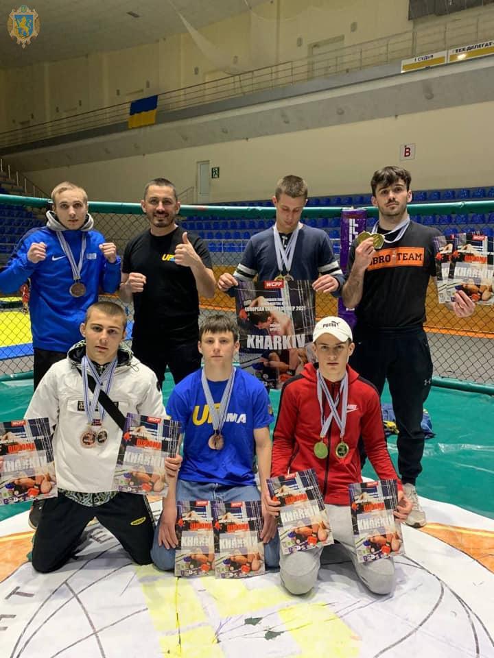 Борці з Червонограда стали чемпіонами Європи з козацького двобою