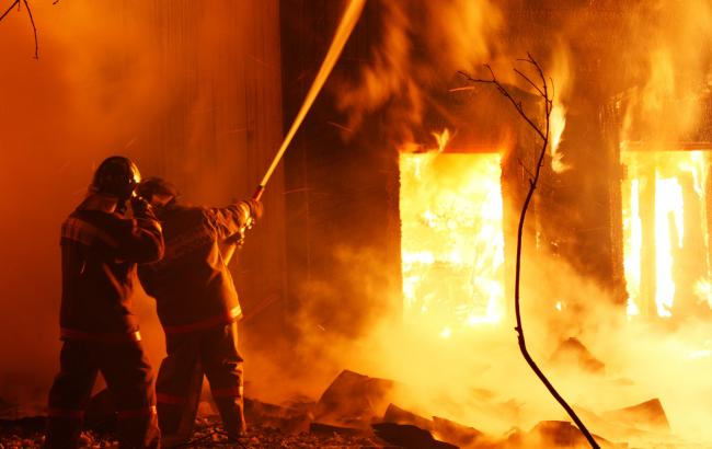 У селі Велике згоріла сауна