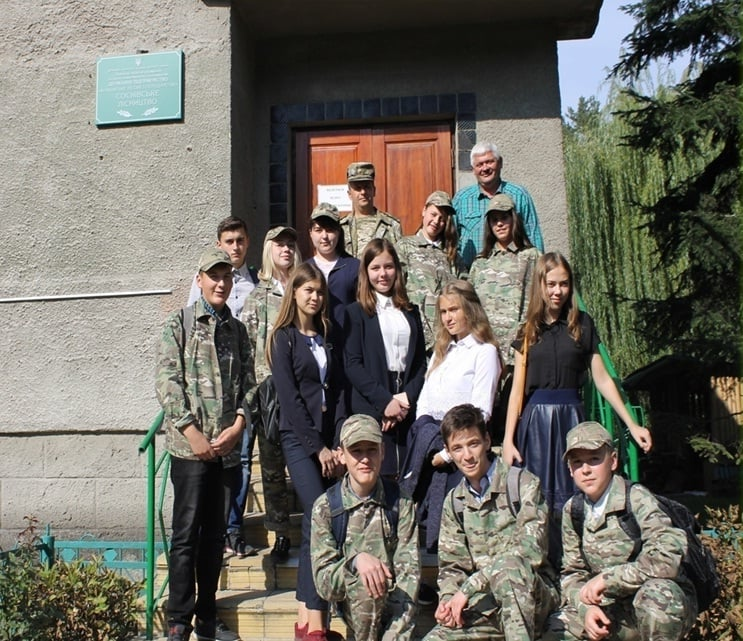 Учні Соснівської школи представлять область на Всеукраїнському конкурсі лісництв