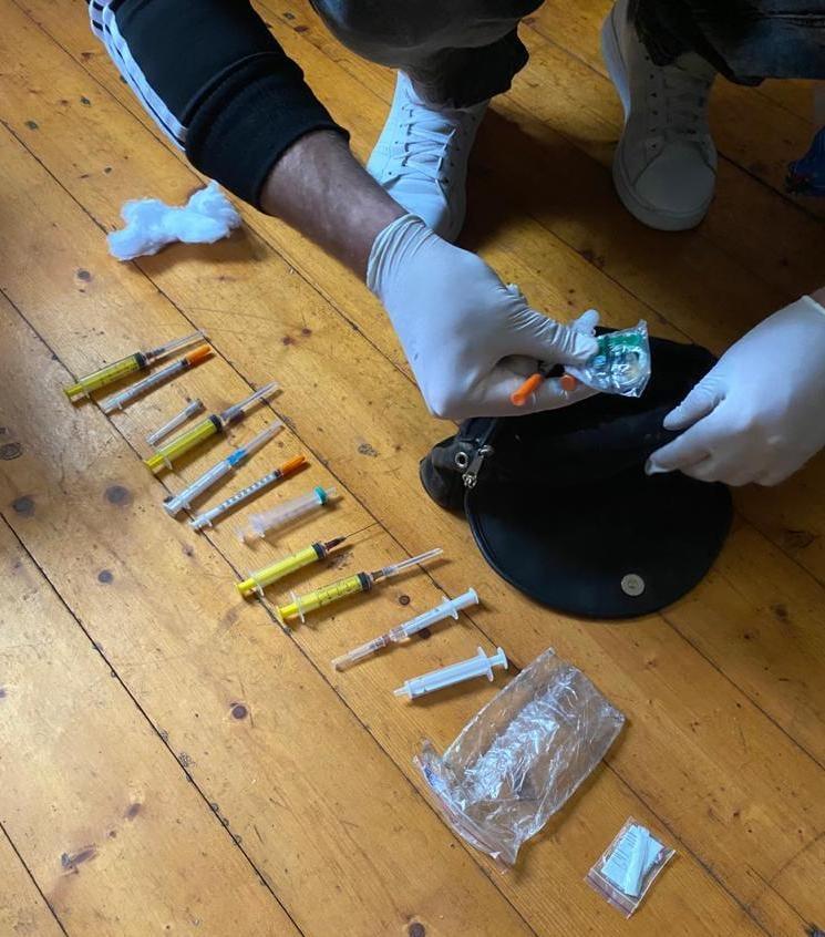 У Жовкві поліцейські затримали наркодилера відразу після збуту «метадону»