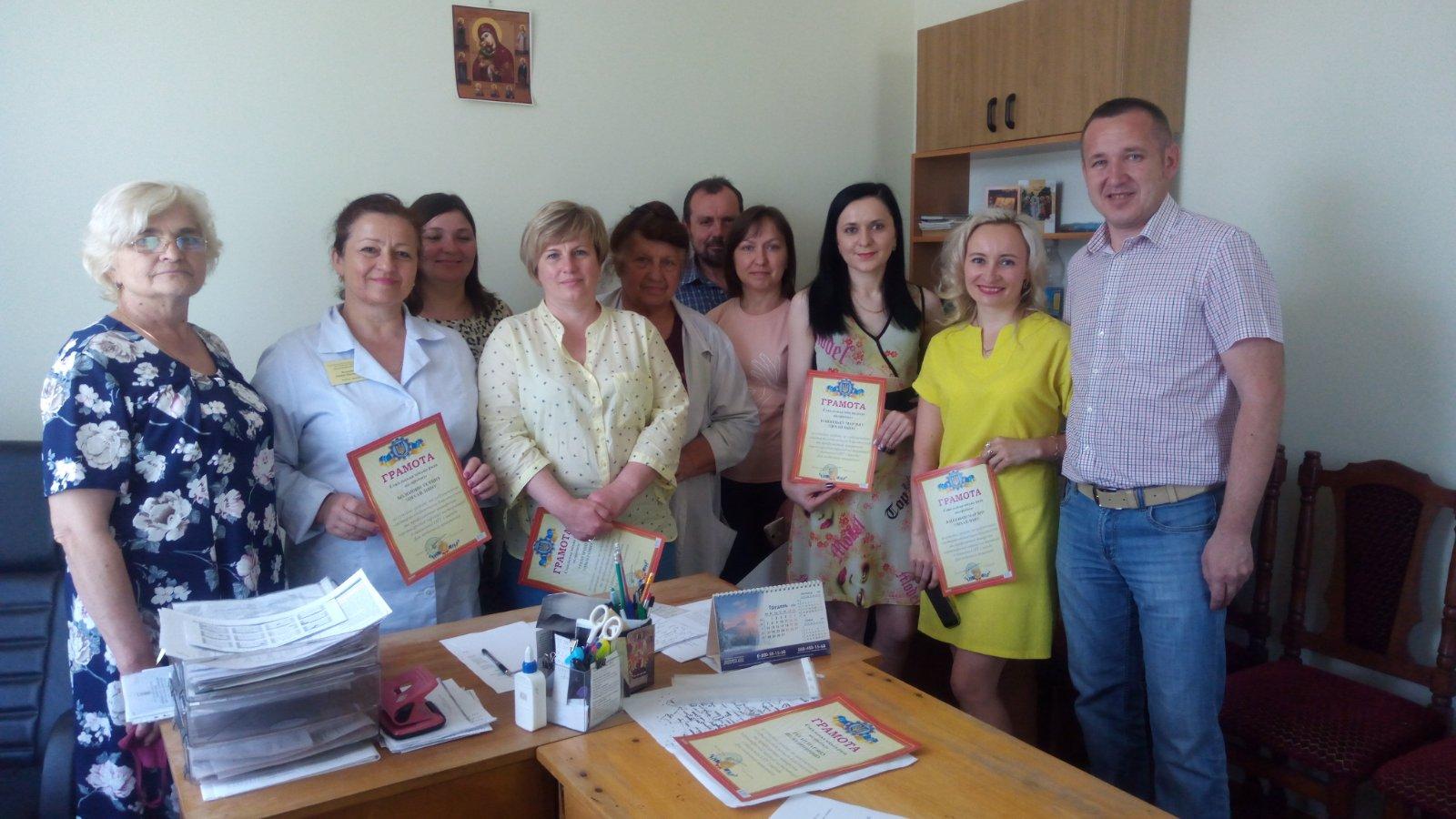Як вітали медиків Сокаля, Червонограда та Белза напередодні професійного свята?