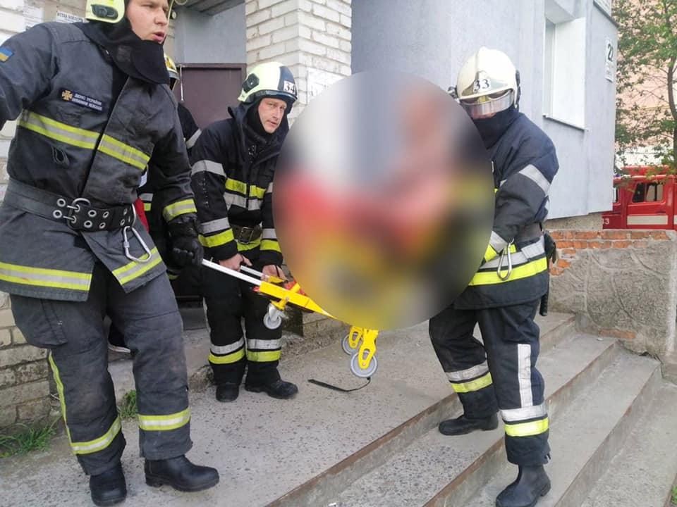 У Червонограді внаслідок вибуху технічного пристрою, чоловік отримав травми