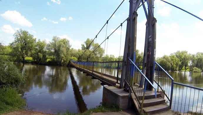 У привласненні близько 1,5 млн грн на реконструкції  підвісного мосту у Червонограді підозрюють директора фірми-підрядника