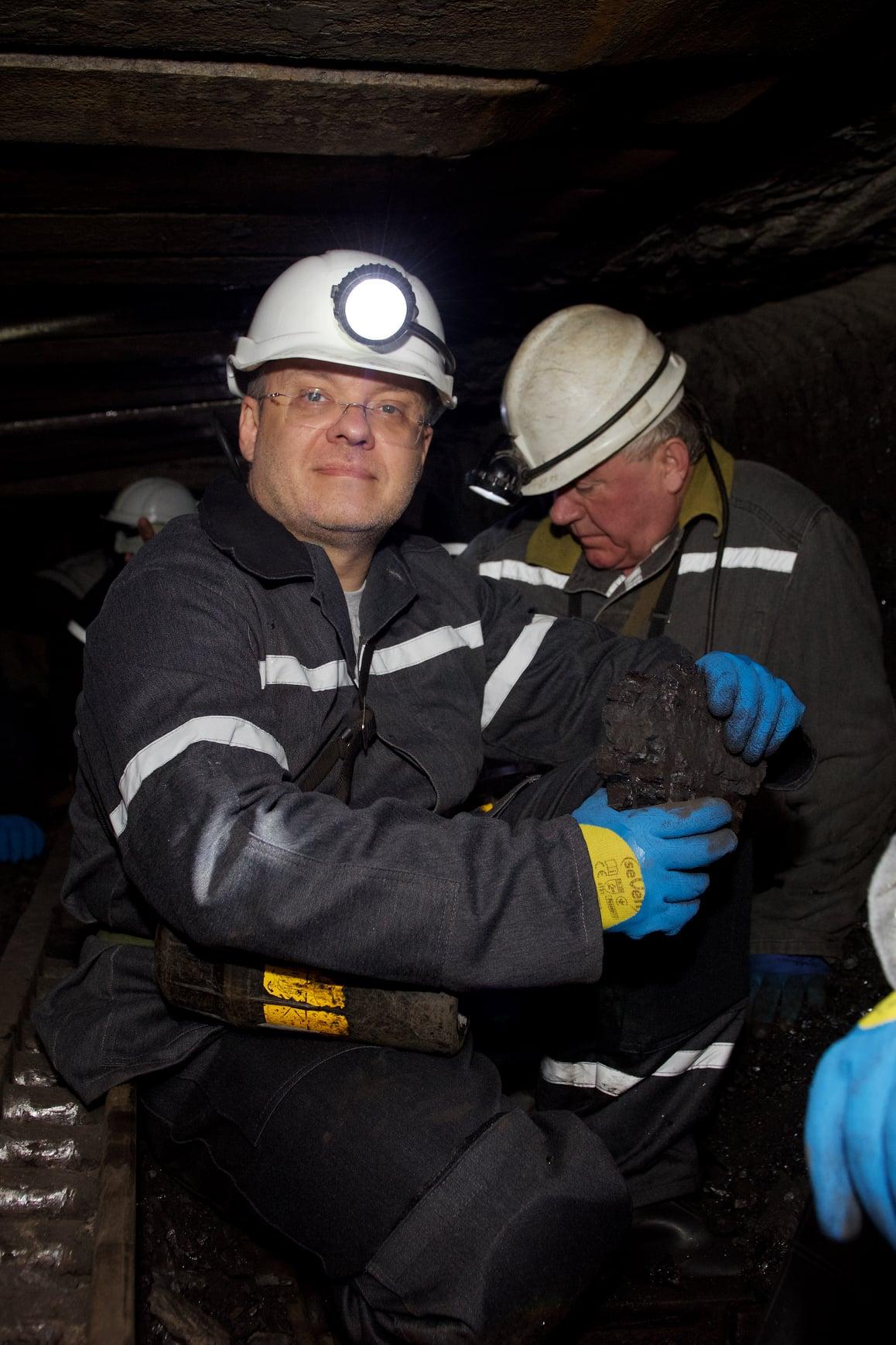 Міністр енергетики Герман Галущенко з робочим візитом відвідав шахту «Степова» ДП «Львіввугілля»