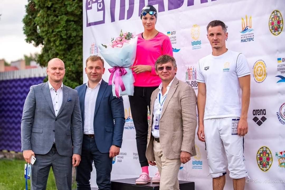 Червоноградці стали призерами й чемпіонами обласного марафону з плавання в рамках «Відкритого кубку Львова»