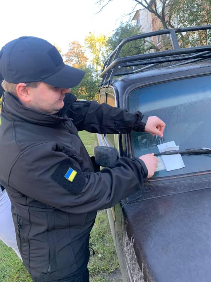 Переставте машину, або – штраф! – У Червонограді запрацювали інспектори з паркування