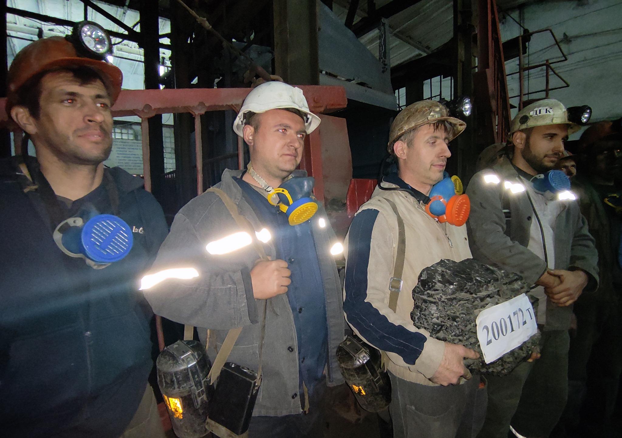 """Гірники шахти """"Межирічанська"""" достроково виконали річний план з видобутку вугілля"""
