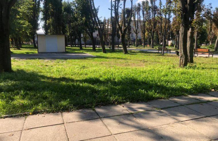 У Червонограді в Парку культури та відпочинку  облаштують спортивний майданчик з віртуальним тренером