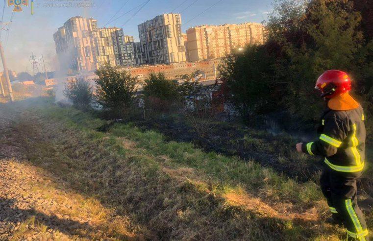 """Львівщина """"горить"""": в області за добу зареєстрували 5 пожеж сухостою"""