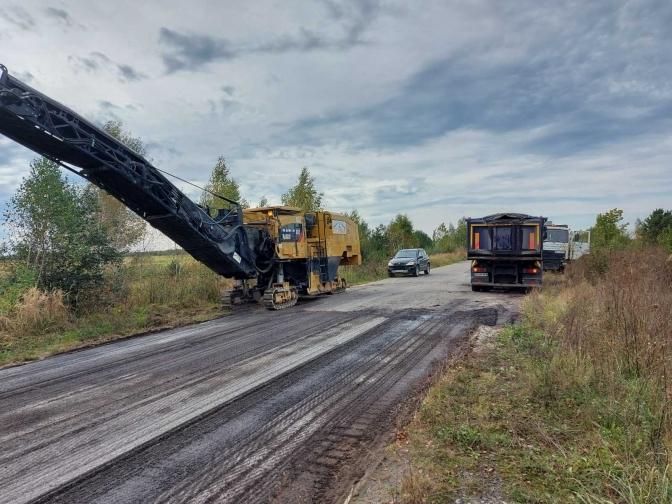 """Компанія """"Дрог – Буд"""" відновить ремонт дороги Червоноград – Рава-Руська після погодження додаткової угоди на фінансування"""