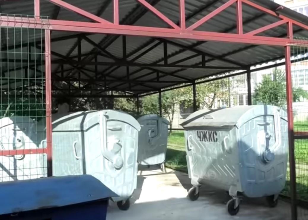 У Червонограді почали встановлювати сміттєві майданчики європейського стандарту