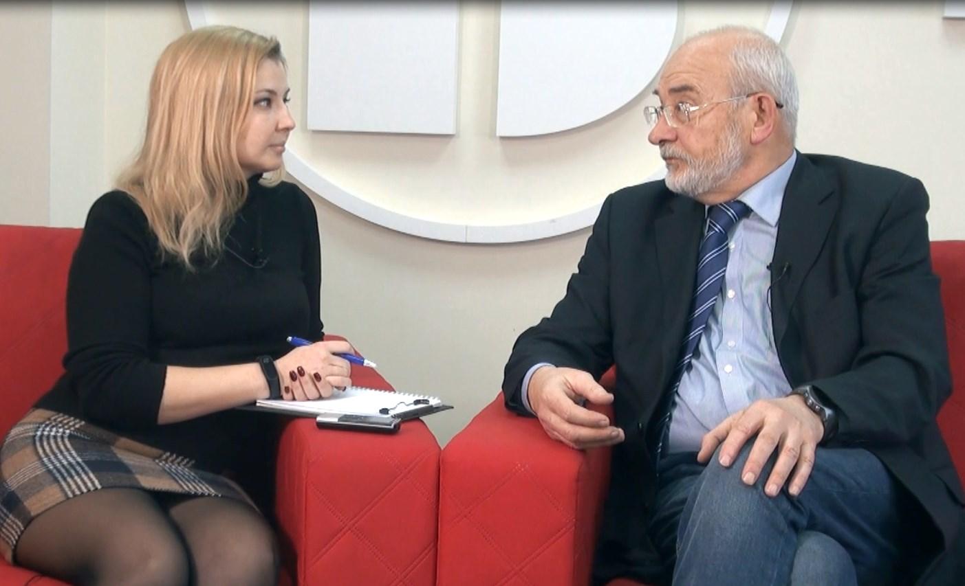 """Євген Жеребецький – інтерв'ю у програмі """"Гостро про"""""""