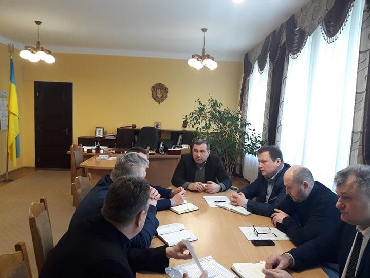 В Сокальській РДА відбулося засідання оперативного штабу
