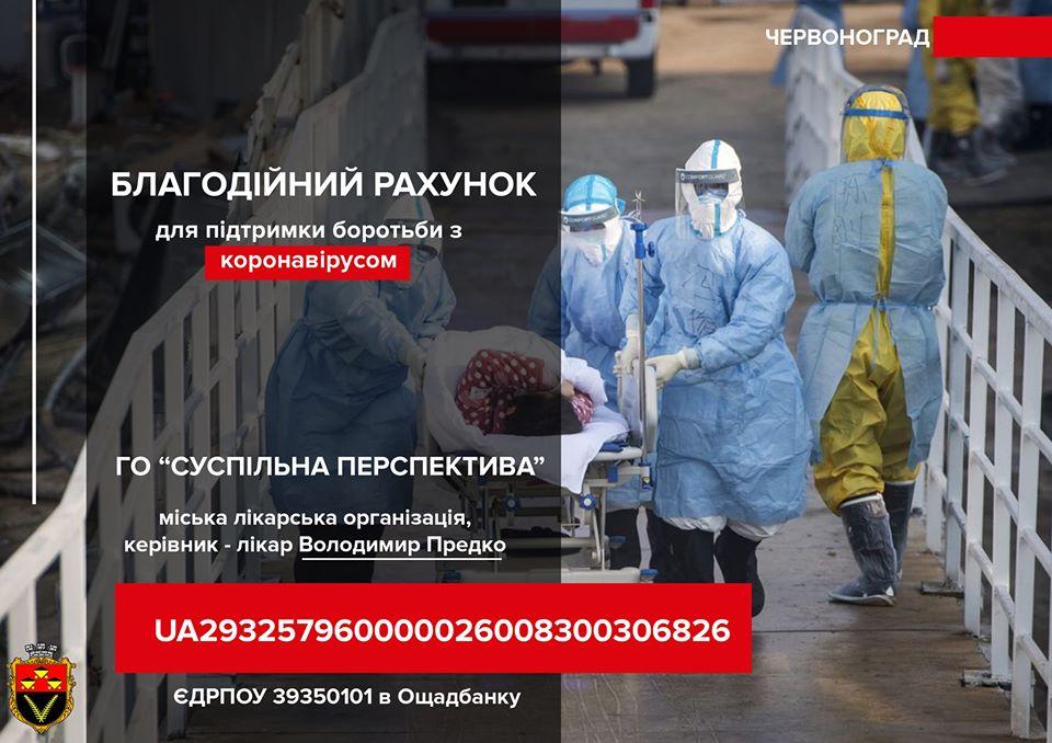 Благодійники – медикам Червонограда