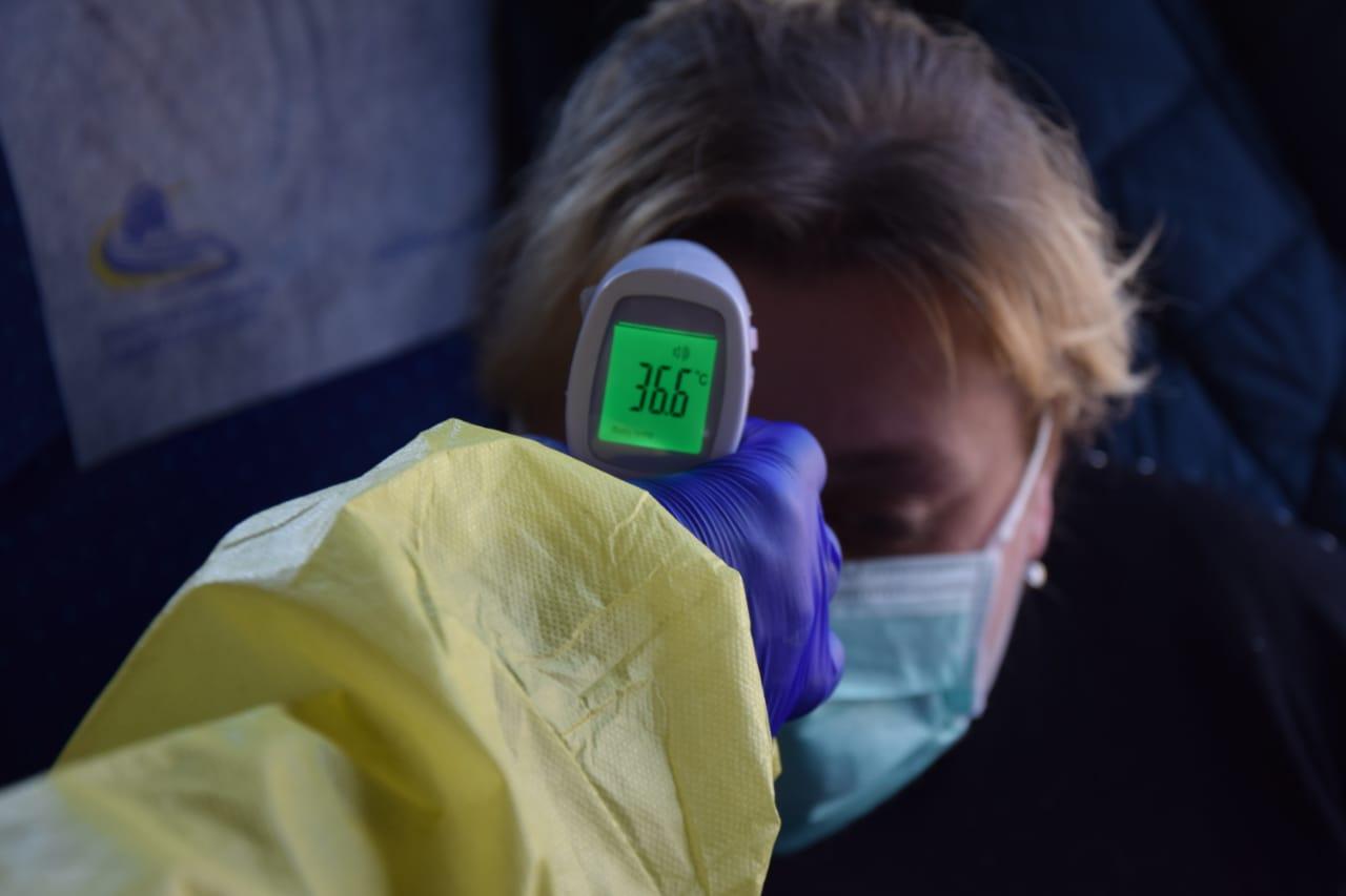 Українці, які перетинають кордон, вживають жарознижуюче, щоб у них не виявили підвищеної температури тіла
