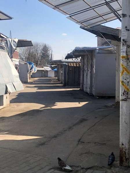 Червоноградський ринок не працюватиме з 20 березня, в Сокалі припинив роботу ще 15 числа
