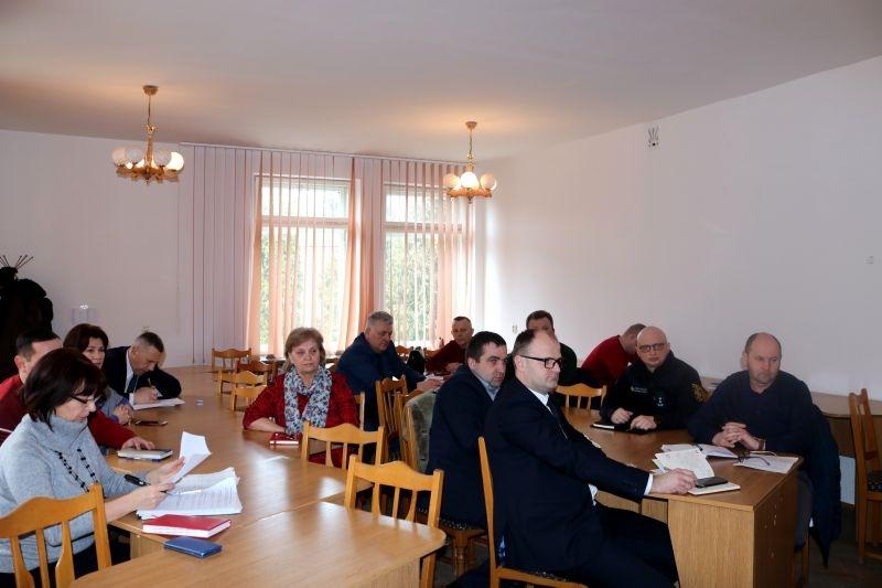 В Сокалі засідала районна комісія з питань ТЕБ і НС