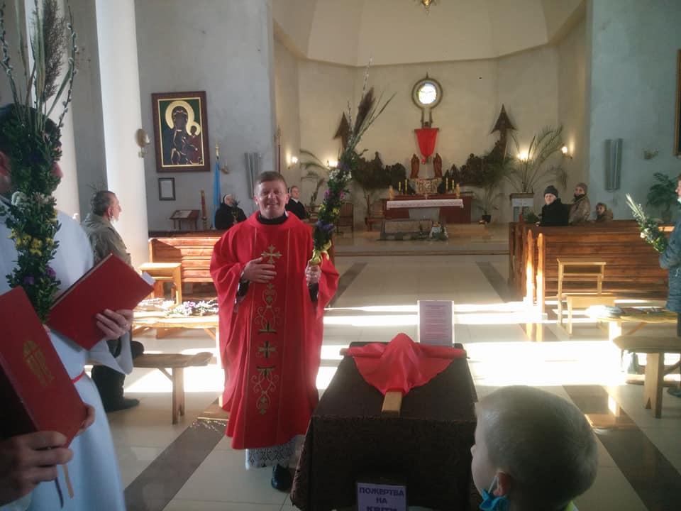 Католики святкують Вербну неділю