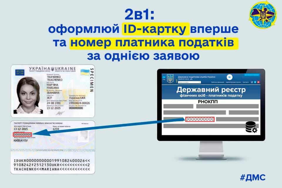 В Україні підлітки разом з паспортом отримуватимуть ідентифікаційний код