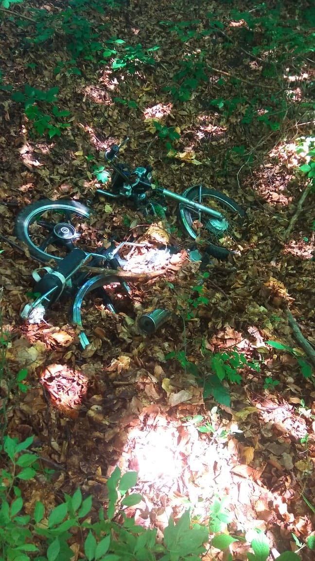 Школярі віком 15 та 16 років мотоцикл вкрали, але продати його не встигли