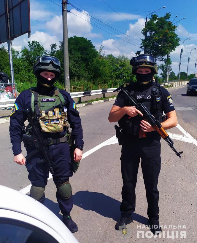 Нацполіція посилює заходи безпеки у Львівській області