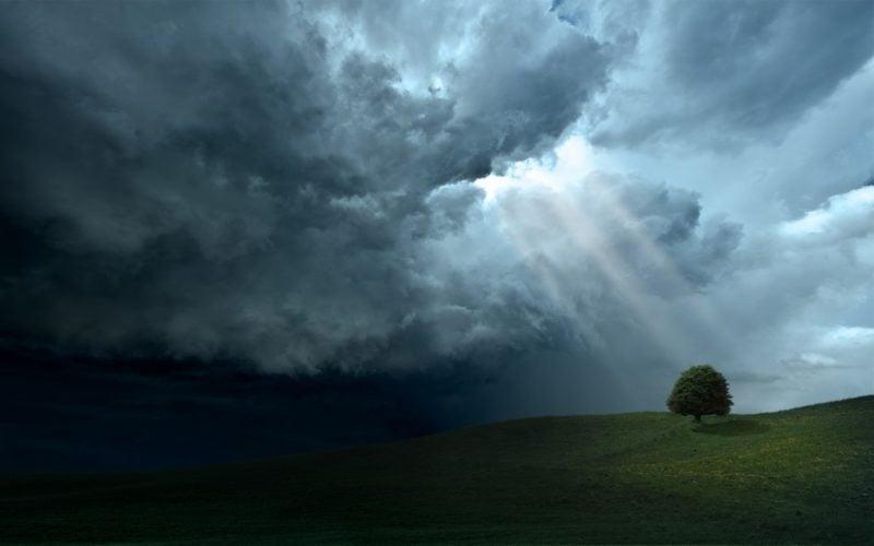 На вихідні знову штормове попередження