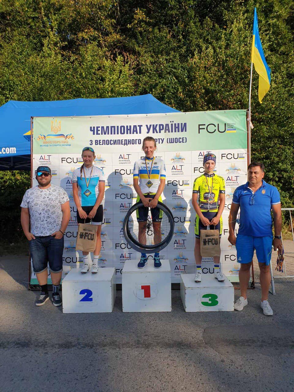 Червоноградка виборола друге золото чемпіонату України з велосипедного спорту на шосе