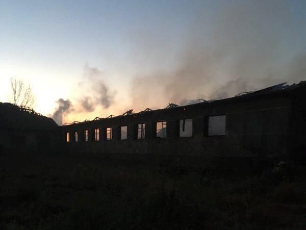 Пожежа у селі Варяж – згоріло 50 тонн сіна